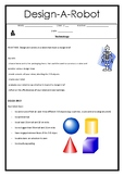 Design and Technology - Design a Robot (Student Workbook)