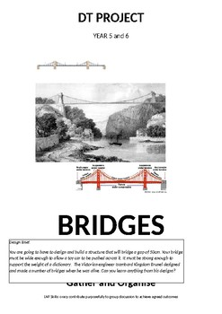 Design and Technology Project - BRIDGES