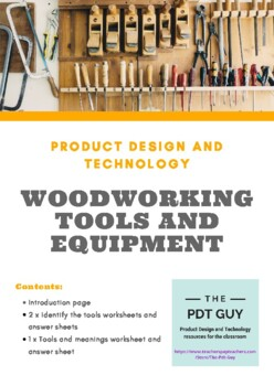 Design And Technology Woodworking Tools And Equipment By
