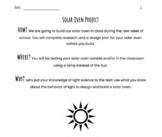 Design and Test A Solar Oven