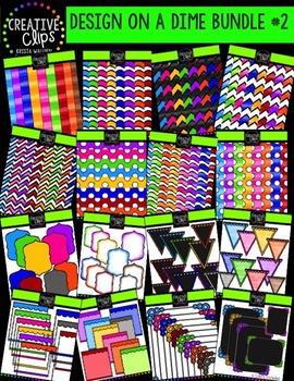 Design on a Dime Bundle #2 {Creative Clips Digital Clipart}