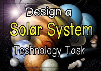 Design task Model Solar System