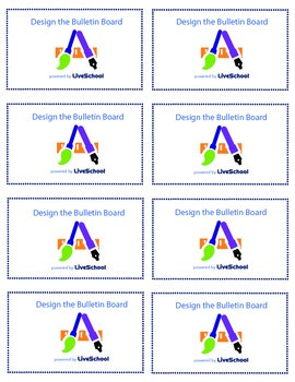 Design the Bulletin Board Reward Cards
