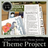 Design the Front Cover of a Novel Project: Teaching THEME