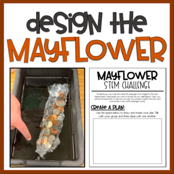 Design the Mayflower: STEM Challenge