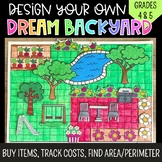 Design your Dream Backyard: Adding Money Project