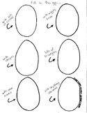 Design your own Easter Egg Template