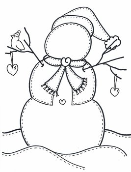 Design your own SNOWMAN