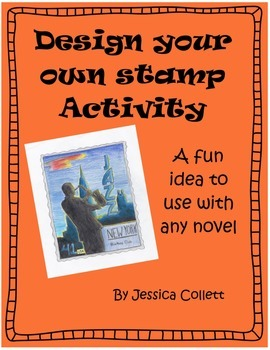Reading (pre/post/during) activity for any novel: Design your own stamp