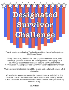 Designated Survivor Challenge