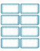 Designed  Editable Labels ( Shades of blue)