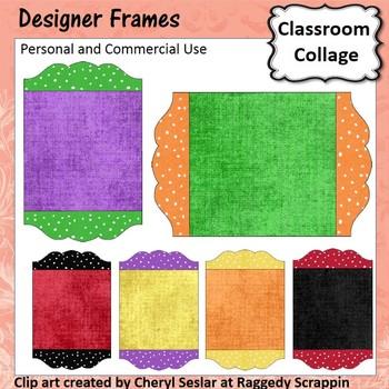 Designer Boards - Frame Sign or Label template - pers & comm use C. Seslar
