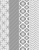 Designer Digital Papers - Beautiful 8 pack of Pinks and Grays