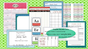 Designer Dots Classroom Essentials Teacher Set