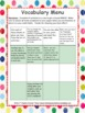 Designer Dots Theme Grade Two CCSS Complete Vocabulary Program