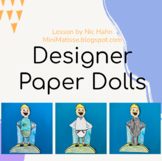 Designer Paper Dolls