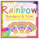 Designer RAINBOW Borders and Trim | DIY