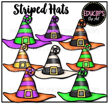 Designer Witch Hats Clip Art Bundle {Educlips Clipart}