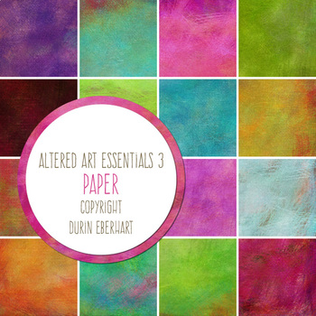 Altered Art Essentials 3 Paper