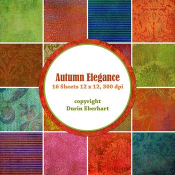 Autumn Elegance Paper