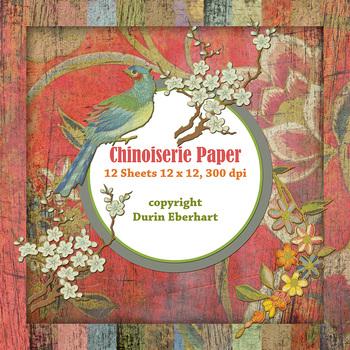 Designer's Resource: Chinoiserie Paper