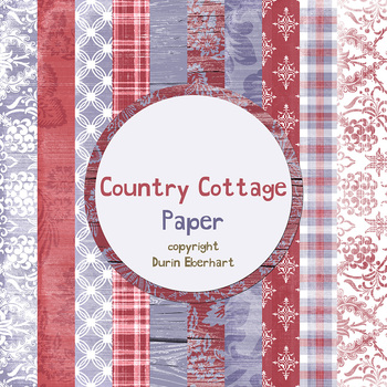 Designer's Resource: Country Cottage Paper