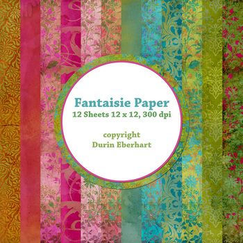 Designer's Resource: Fantaisie Paper