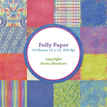 Designer's Resource: Folly Paper