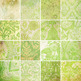 Designer's Resource: Memories of Green Paper, Embellishments and Alphas
