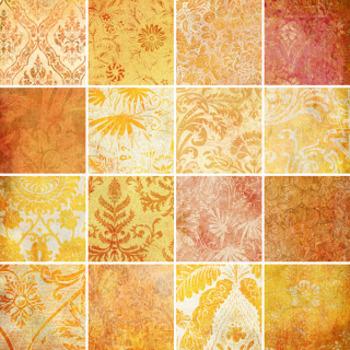 Designer's Resource: Memories of Orange Paper, Embellishments and Alphas