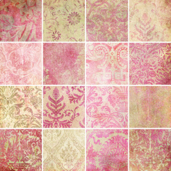 Designer's Resource: Memories of Pink Paper, Embellishments and Alphas