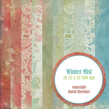 Designer's Resource: Winter Mist Paper