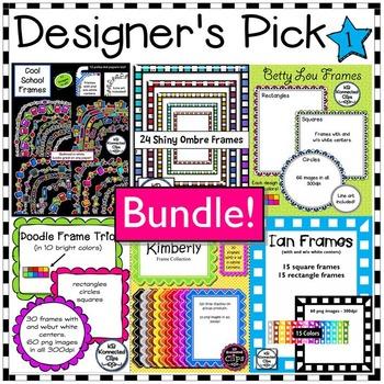 Designer's Pick Frame Bundle 1