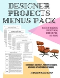 6-12 Designer Project Menus Pack