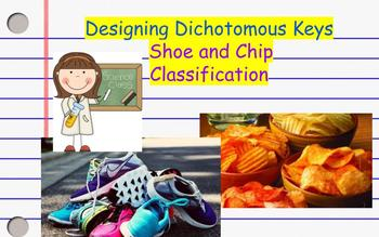 Designing Dichotomous Keys- Classifying Shoes and Chips!
