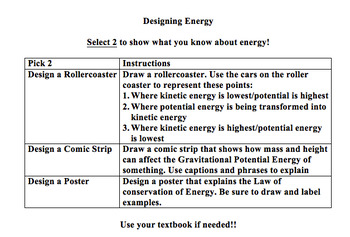 Designing Energy