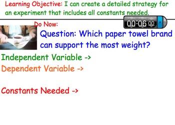Designing Experimental Procedures (Scientific Method) - Lessons & Experiments