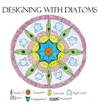Designing Mandalas with Diatoms