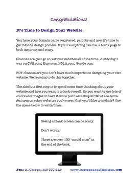 Designing Your Private Practice Website