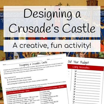 Designing a Crusader's Castle
