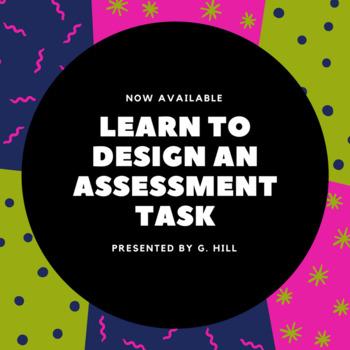 Designing a Performance Assessment Task