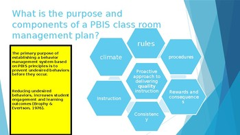 Designing a Positive Classroom Management System: Improve Student Behaviors