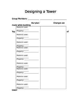 Designing a Tower