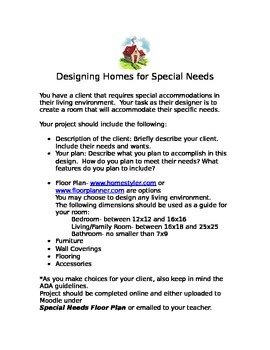 Designing for Special Needs Project