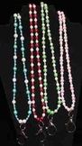 Custom Made Smart Beads or Lanyards for School IDs w/Lobst