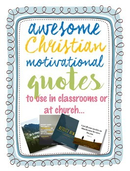 Desirable thinking: Scriptures and poster quotes