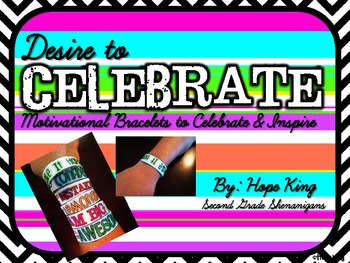Desire to Celebrate: Motivational Bracelets to Celebrate and Inspire