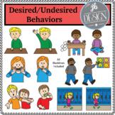 Desired/Undesired Behaviors (JB Design Clip Art for Person