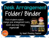 Desk Arrangement Folder