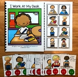 Desk Behavior Adapted Book and Activities